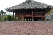 Cần bán khuôn viên hoàn thiện dt: 5ha có bể bơi, ao, nhà sàn giá chỉ 4,1 tỷ tại Lương Sơn