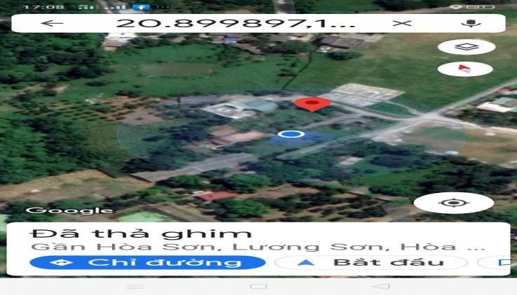 Đất Lương Sơn làm nhà vườn nghỉ dưỡng 4896m2