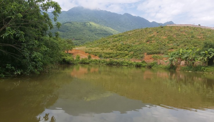 Bán đất Lương Sơn Hòa Bình diện tích 3060m2 view mặt hồ hướng Nam tuyệt đẹp