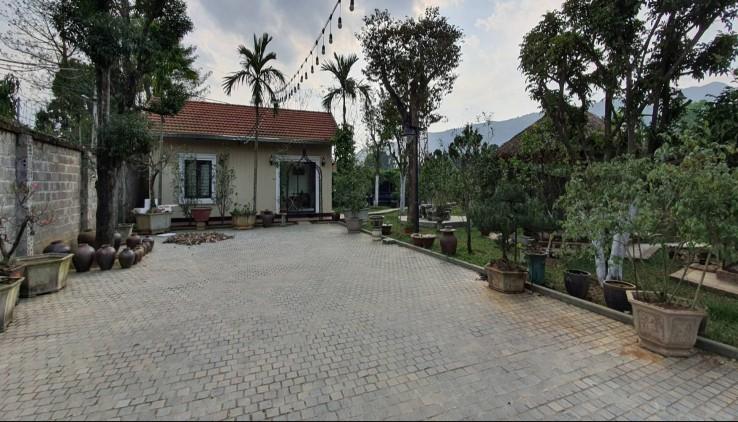 Bán nhanh 22000m2 khuôn viên hoàn thiện tuyệt đẹp tại Lương Sơn